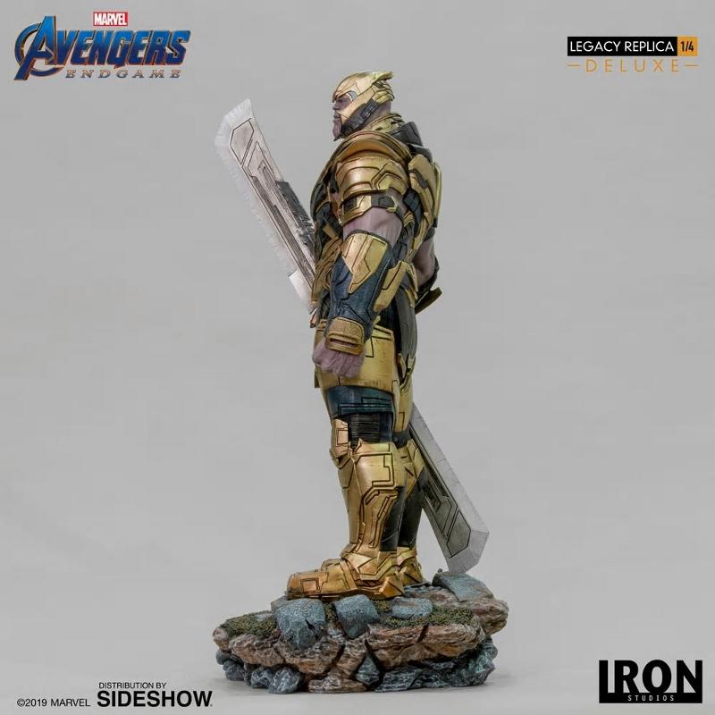 IRON STUDIOS : Avengers Endgame - Thanos (Deluxe) 1.4 statue Thanos22