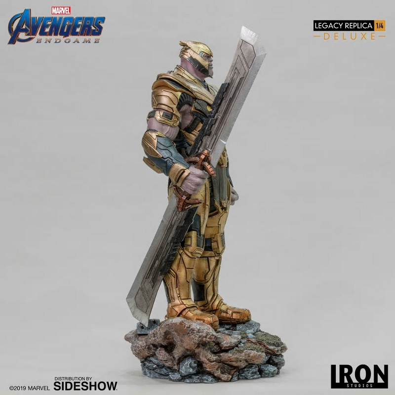 IRON STUDIOS : Avengers Endgame - Thanos (Deluxe) 1.4 statue Thanos23