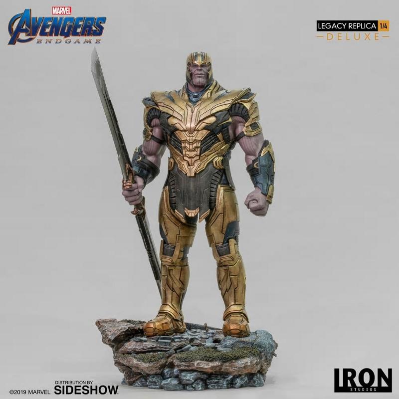 IRON STUDIOS : Avengers Endgame - Thanos (Deluxe) 1.4 statue Thanos24