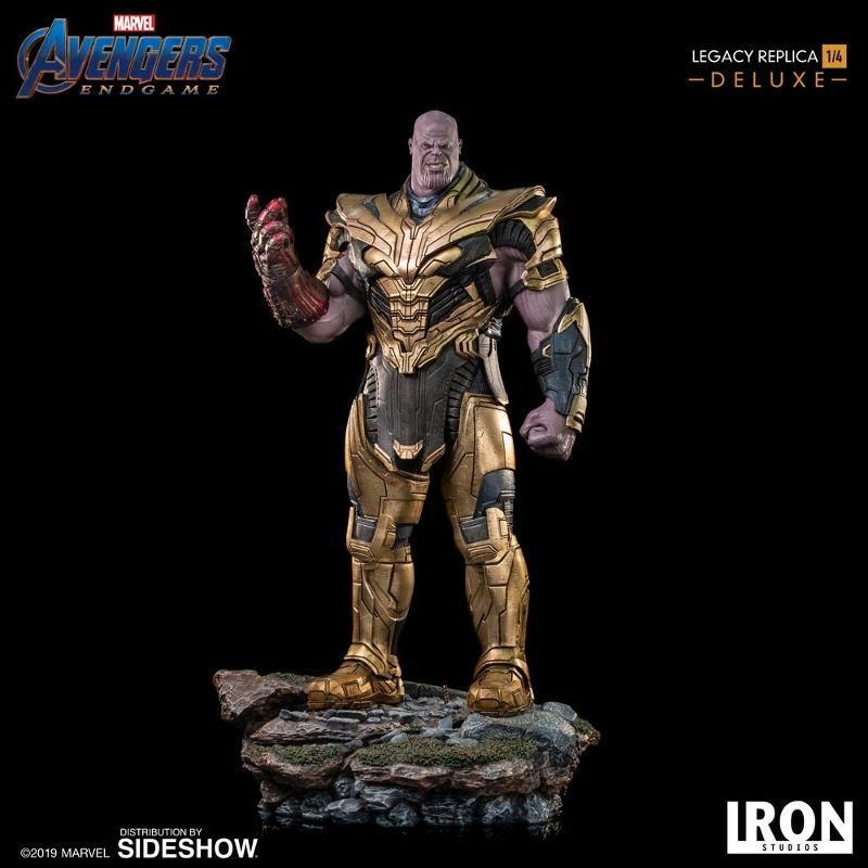 IRON STUDIOS : Avengers Endgame - Thanos (Deluxe) 1.4 statue Thanos25