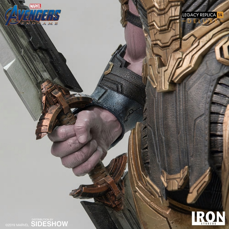 IRON STUDIOS : Avengers Endgame - Thanos (Deluxe) 1.4 statue Thanos26