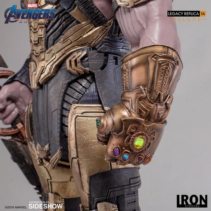 IRON STUDIOS : Avengers Endgame - Thanos (Deluxe) 1.4 statue Thanos27