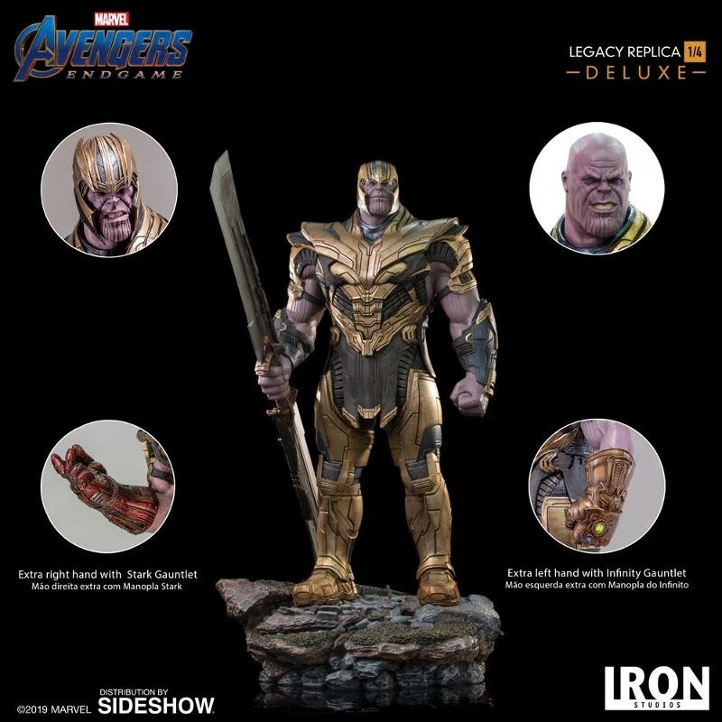 IRON STUDIOS : Avengers Endgame - Thanos (Deluxe) 1.4 statue Thanos28