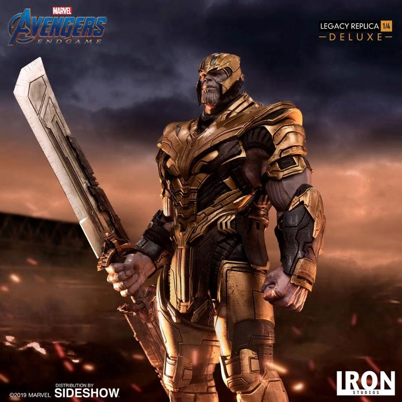 IRON STUDIOS : Avengers Endgame - Thanos (Deluxe) 1.4 statue Thanos29