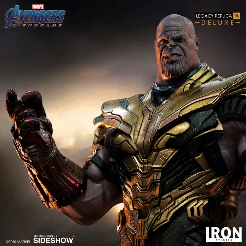 IRON STUDIOS : Avengers Endgame - Thanos (Deluxe) 1.4 statue Thanos30