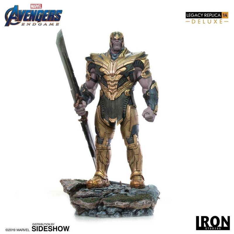 IRON STUDIOS : Avengers Endgame - Thanos (Deluxe) 1.4 statue Thanos31