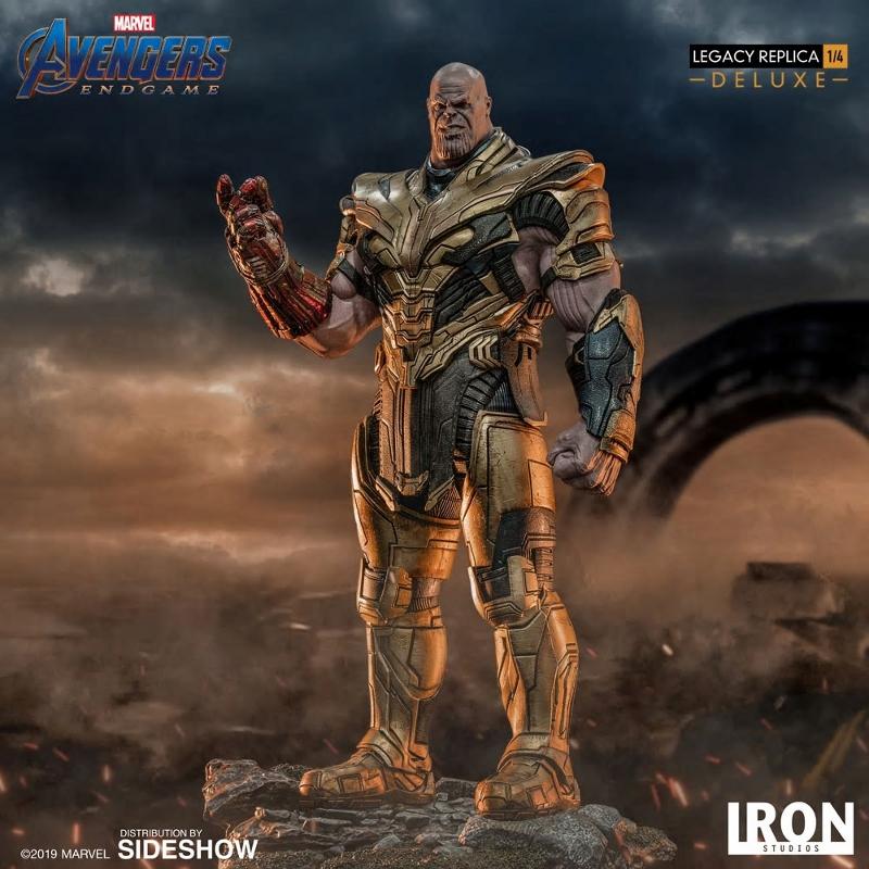 IRON STUDIOS : Avengers Endgame - Thanos (Deluxe) 1.4 statue Thanos32