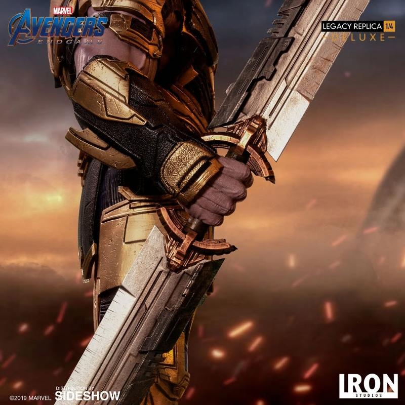 IRON STUDIOS : Avengers Endgame - Thanos (Deluxe) 1.4 statue Thanos33