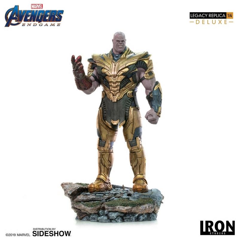IRON STUDIOS : Avengers Endgame - Thanos (Deluxe) 1.4 statue Thanos34