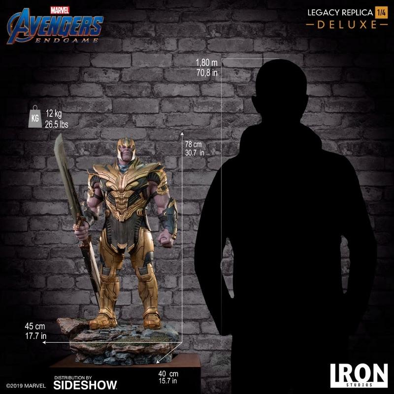 IRON STUDIOS : Avengers Endgame - Thanos (Deluxe) 1.4 statue Thanos35