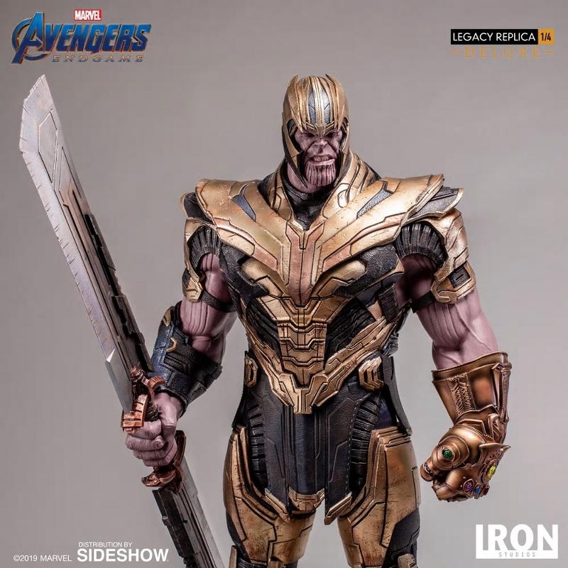 IRON STUDIOS : Avengers Endgame - Thanos (Deluxe) 1.4 statue Thanos36