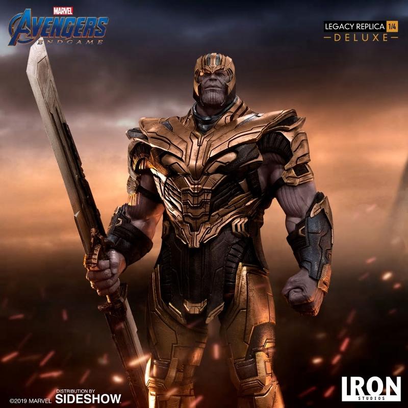 IRON STUDIOS : Avengers Endgame - Thanos (Deluxe) 1.4 statue Thanos37