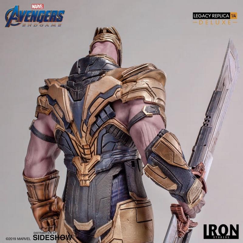 IRON STUDIOS : Avengers Endgame - Thanos (Deluxe) 1.4 statue Thanos38