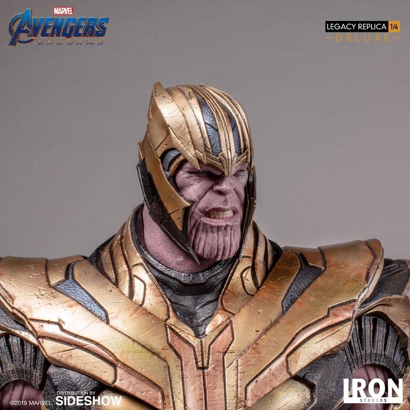 IRON STUDIOS : Avengers Endgame - Thanos (Deluxe) 1.4 statue Thanos39