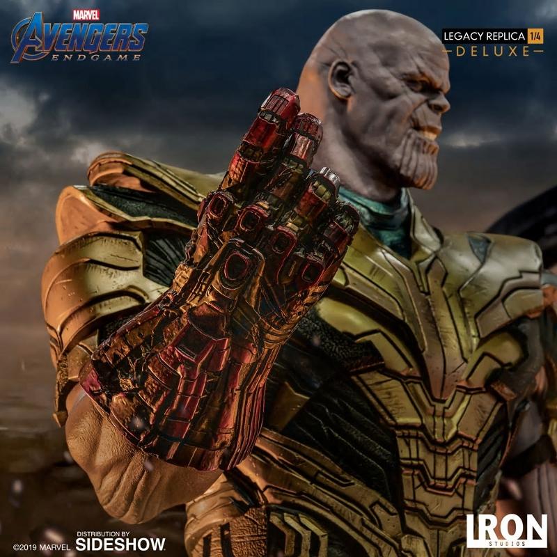 IRON STUDIOS : Avengers Endgame - Thanos (Deluxe) 1.4 statue Thanos40