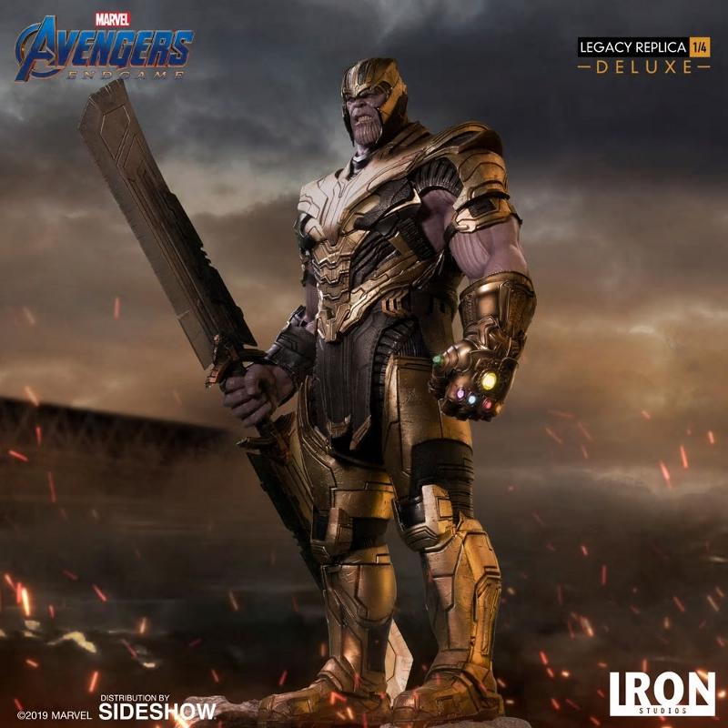 IRON STUDIOS : Avengers Endgame - Thanos (Deluxe) 1.4 statue Thanos41