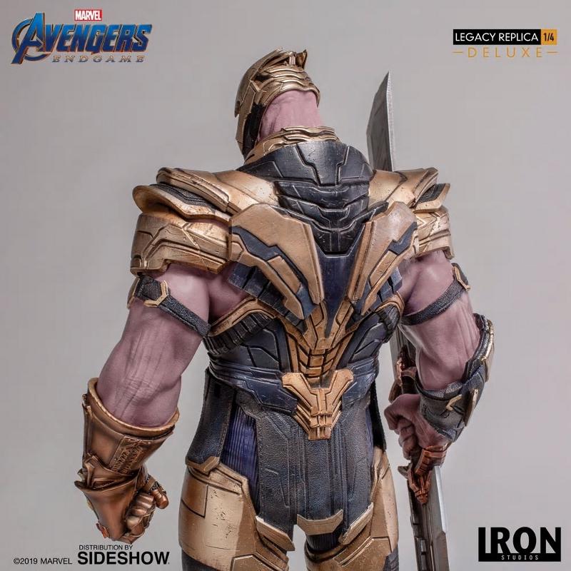 IRON STUDIOS : Avengers Endgame - Thanos (Deluxe) 1.4 statue Thanos43