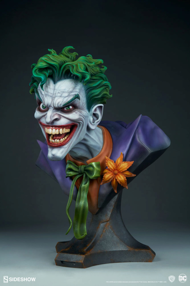 The Joker Life-Size Bust The-jo11