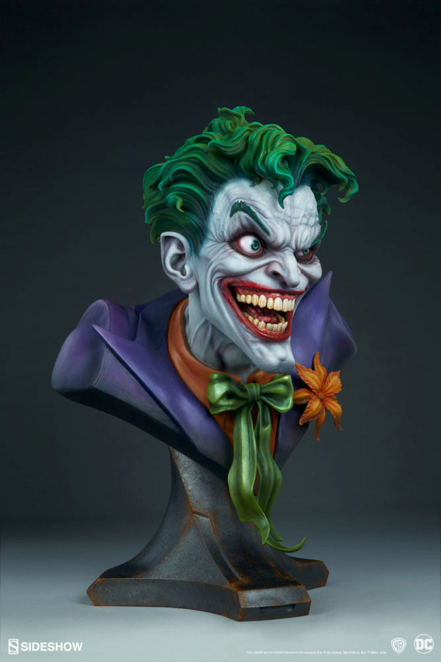 The Joker Life-Size Bust The-jo13