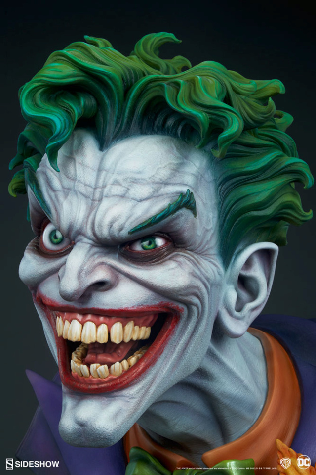 The Joker Life-Size Bust The-jo14