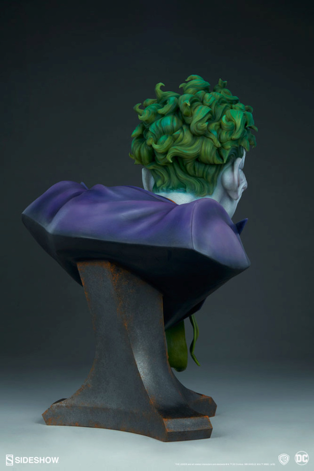 The Joker Life-Size Bust The-jo17