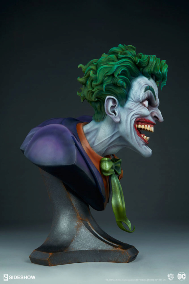 The Joker Life-Size Bust The-jo18