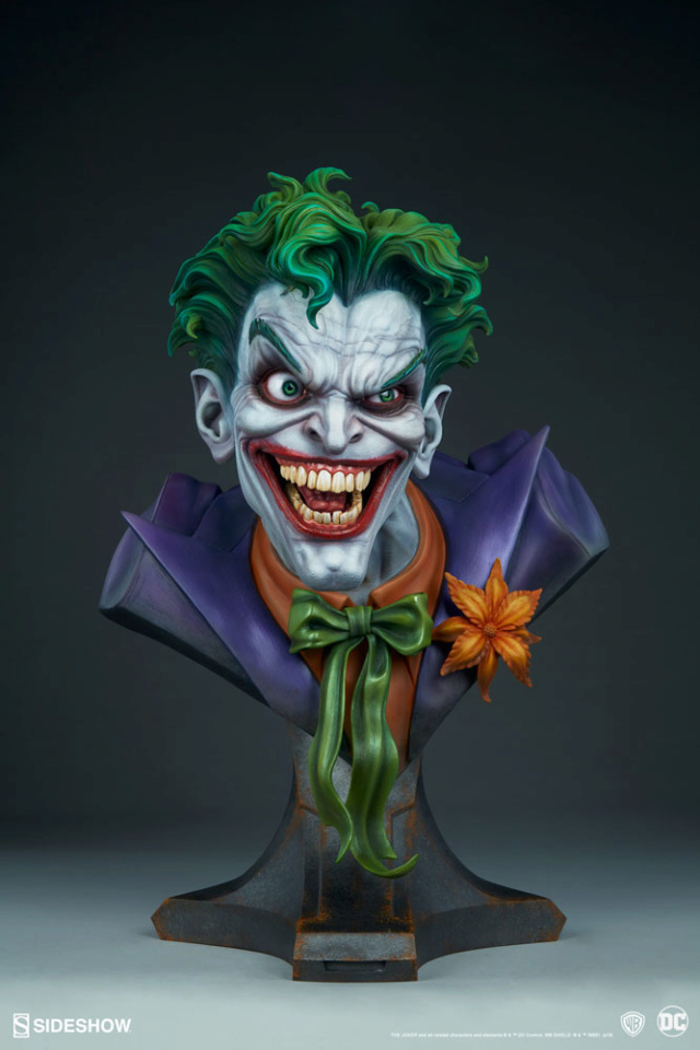 The Joker Life-Size Bust The-jo19