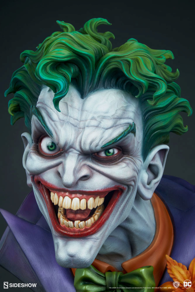 The Joker Life-Size Bust The-jo20