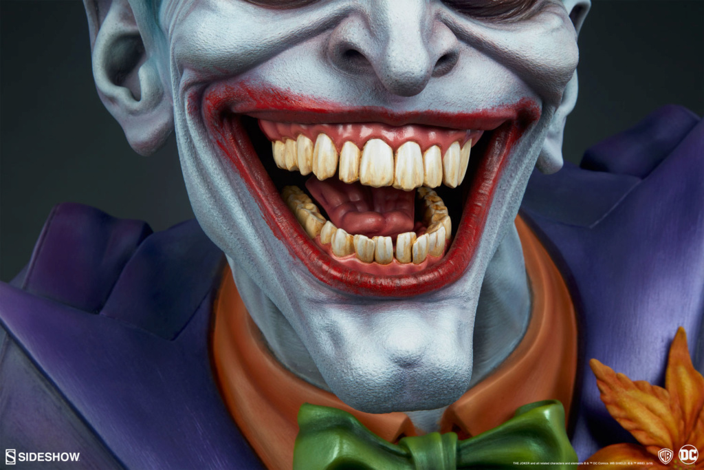 The Joker Life-Size Bust The-jo21