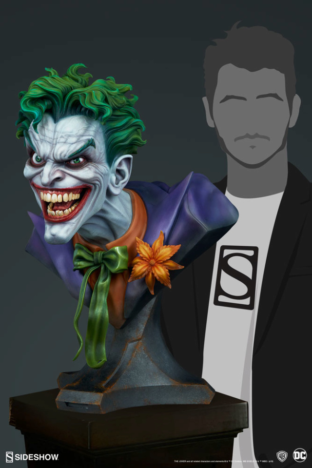 The Joker Life-Size Bust The-jo23