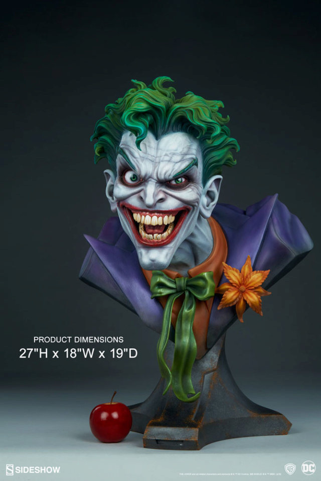 The Joker Life-Size Bust The-jo24