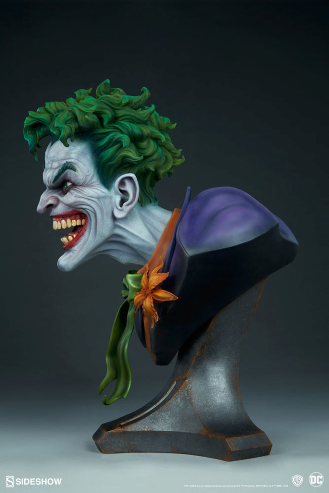 The Joker Life-Size Bust The-jo25