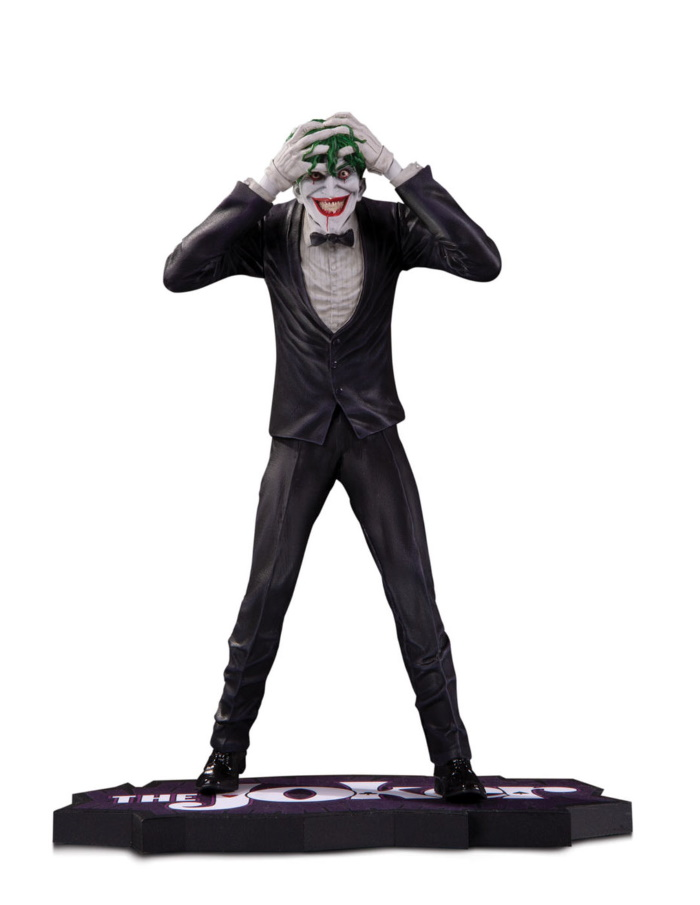 THE JOKER CLOWN PRINCE OF CRIME: THE JOKER BY BRIAN BOLLAND STATUE The-jo39
