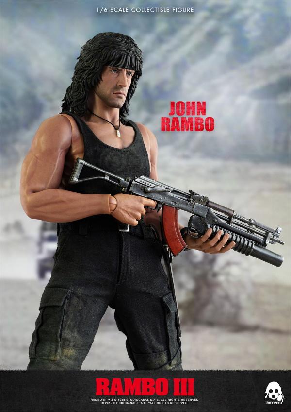 ThreeZero : Rambo III – John Rambo 1/6 Scale Figure Threez41