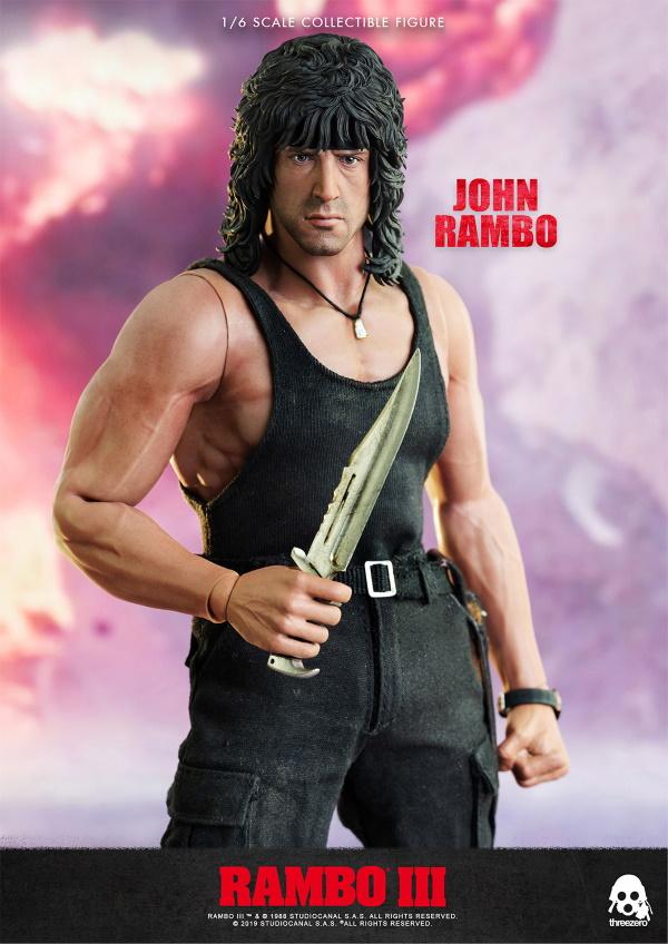 ThreeZero : Rambo III – John Rambo 1/6 Scale Figure Threez45