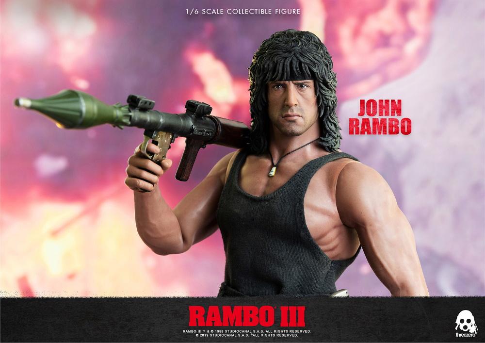 ThreeZero : Rambo III – John Rambo 1/6 Scale Figure Threez46