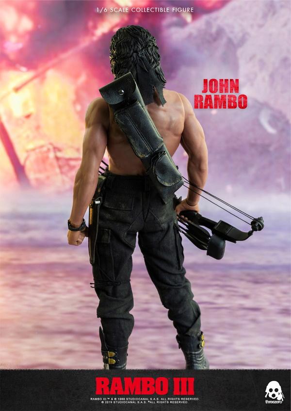 ThreeZero : Rambo III – John Rambo 1/6 Scale Figure Threez47