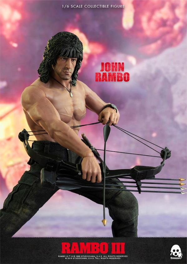 ThreeZero : Rambo III – John Rambo 1/6 Scale Figure Threez48