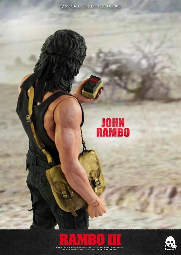 ThreeZero : Rambo III – John Rambo 1/6 Scale Figure Threez50