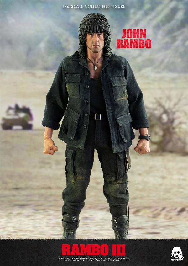 ThreeZero : Rambo III – John Rambo 1/6 Scale Figure Threez51