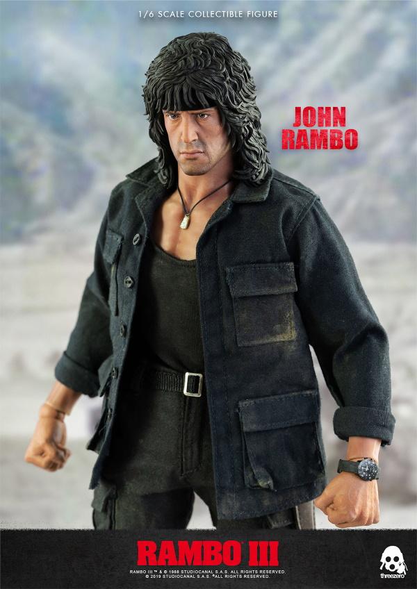 ThreeZero : Rambo III – John Rambo 1/6 Scale Figure Threez52
