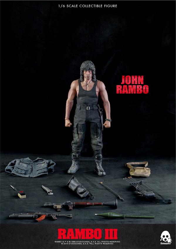 ThreeZero : Rambo III – John Rambo 1/6 Scale Figure Threez53