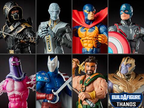 IN HAND!!! Marvel Legends Avengers Endgame 6-Inch Ebony Maw Thanos BAF