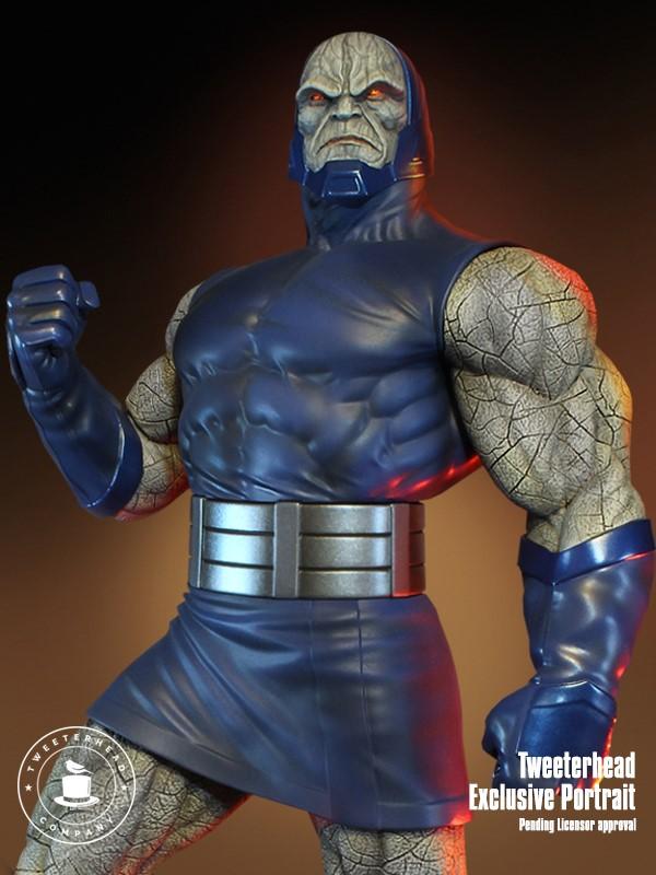 Super Powers Collection : Darkseid 1/6 Scale Statue Tweete29