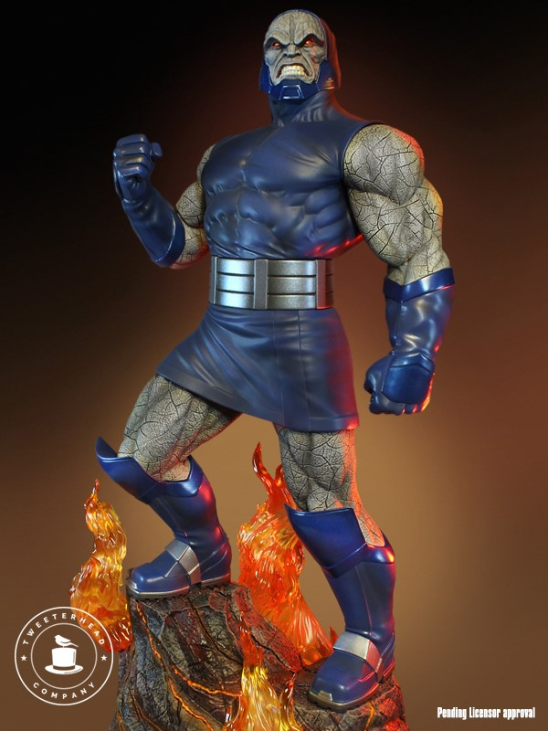Super Powers Collection : Darkseid 1/6 Scale Statue Tweete30