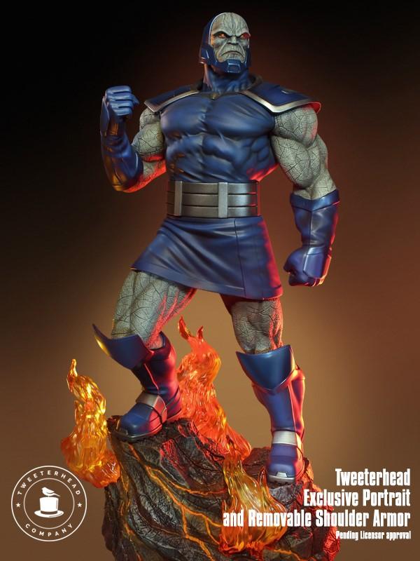 Super Powers Collection : Darkseid 1/6 Scale Statue Tweete34