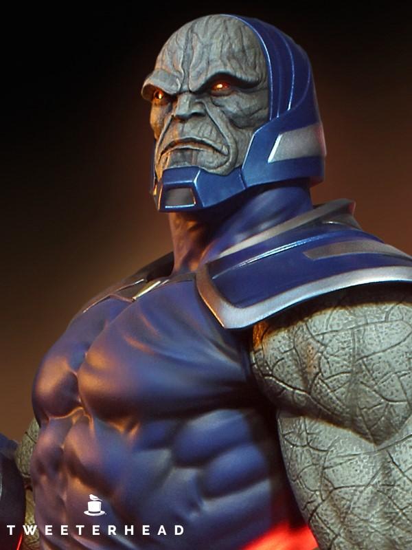 Super Powers Collection : Darkseid 1/6 Scale Statue Tweete35