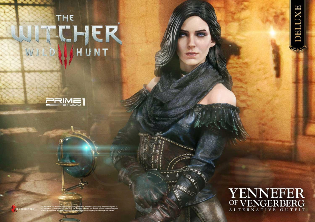 The Witcher 3 – Yennefer of Vengerberg Alternative Outfit Statue Wither10
