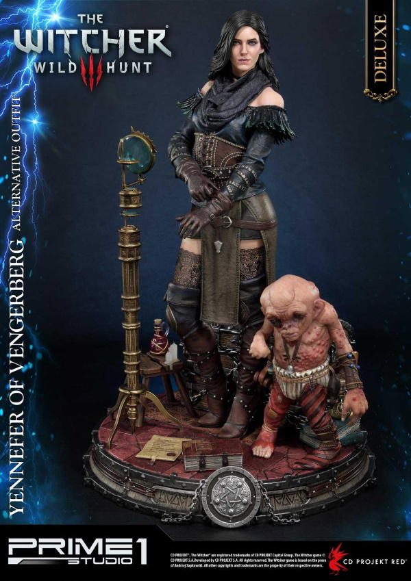 The Witcher 3 – Yennefer of Vengerberg Alternative Outfit Statue Wither12