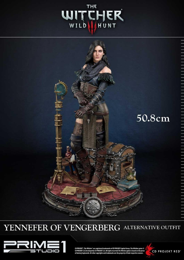 The Witcher 3 – Yennefer of Vengerberg Alternative Outfit Statue Wither15